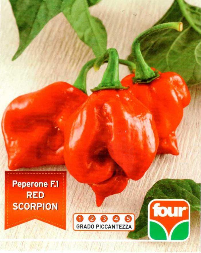 Peperoncino Red Scorpion Agricentro Ariccia